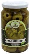 Оливки Amado без косточки, крупные ст/б 350гр