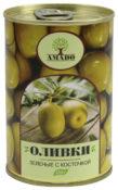 Оливки Amado с косточкой ж/б 300гр