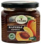 Варенье Amado из абрикоса ст/б 540г